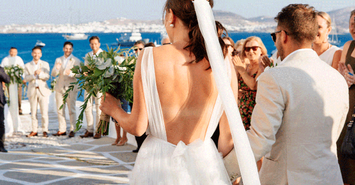 Our Editor Got Married in Greece, and the Pictures Don't Do It Justice