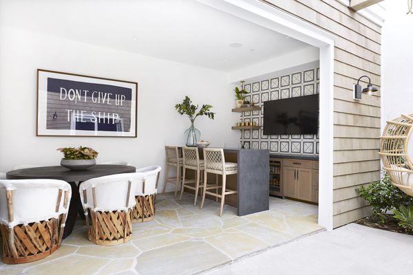 Pure Salt Interiors outdoor space.