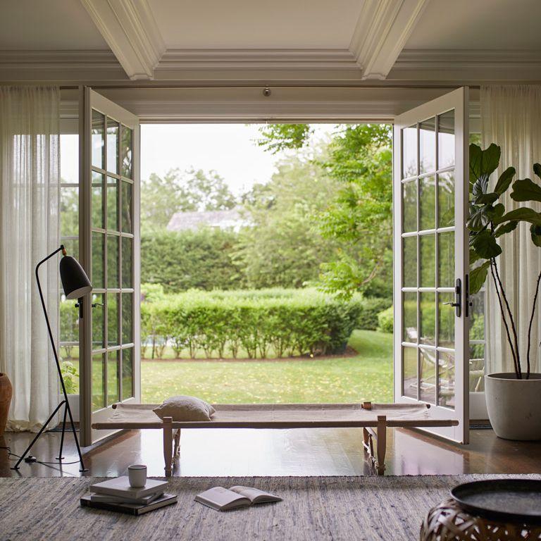 airy indoor outdoor area