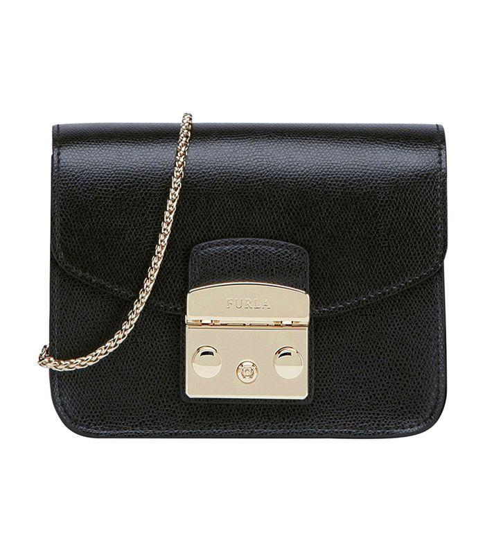Furla Mini Metropolis Leather Crossbody Bag