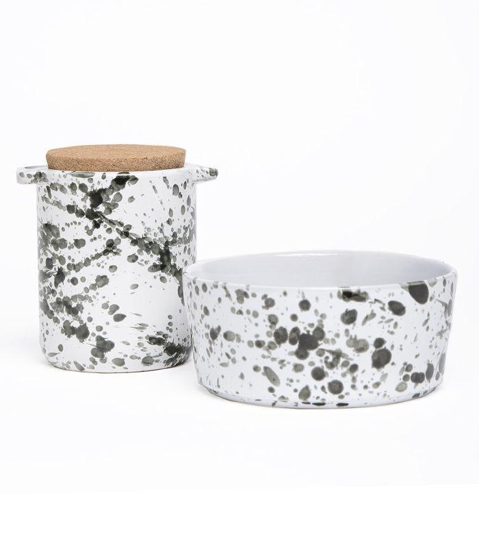 Tazón de cerámica para perros Waggo Splash
