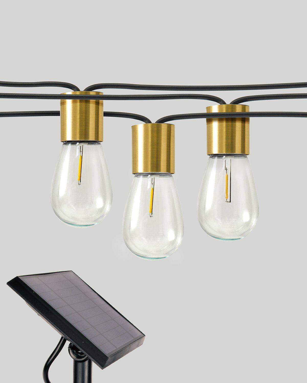 Glow Solar String Lights