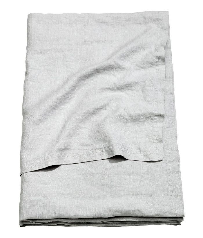 Washed Linen Bedspread