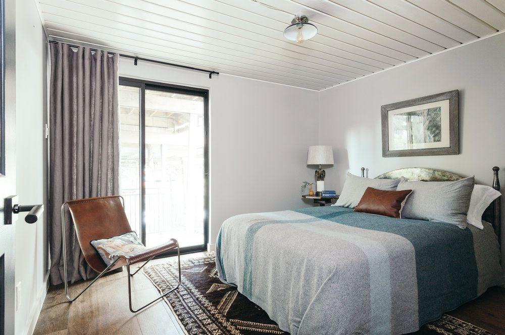 shiplap bedroom ceiling