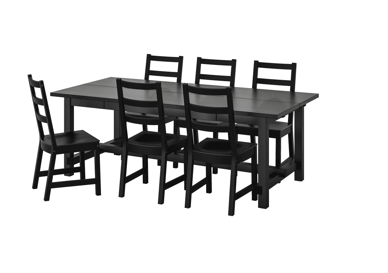 IKEA Nordviken table and chairs