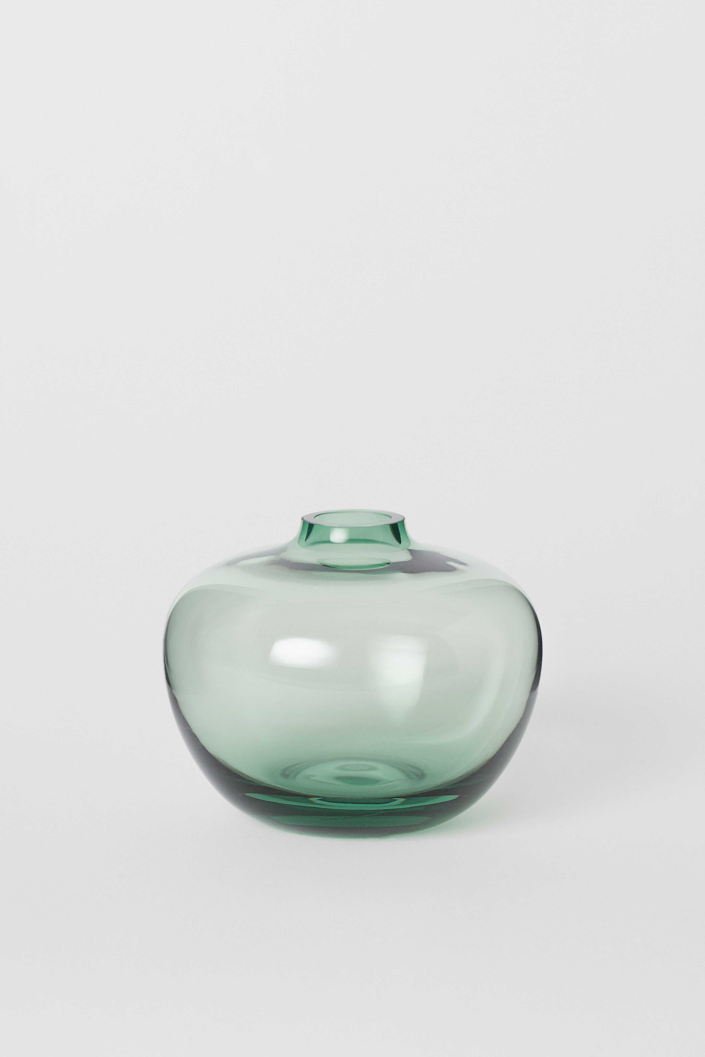 H&M Small Glass Vase