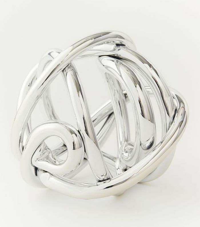 Metallic Glass Knot
