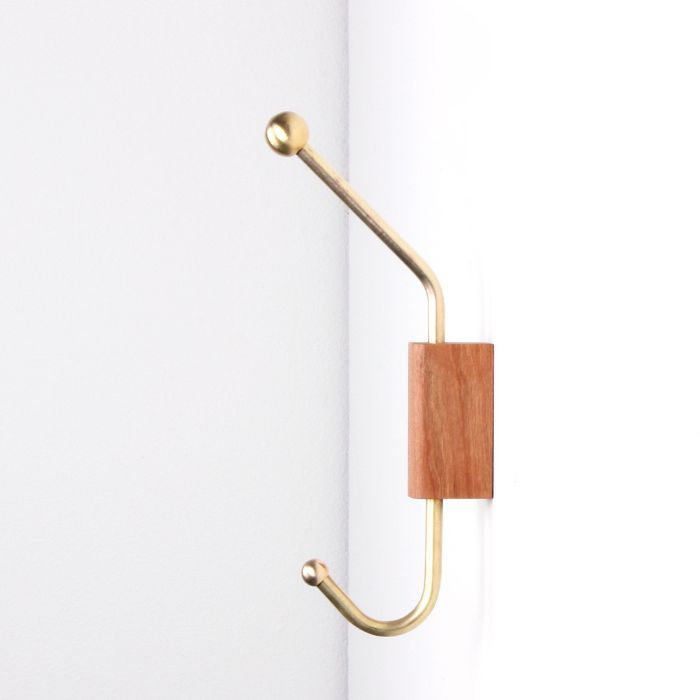 One Forty Three Woodblock Wall Hook