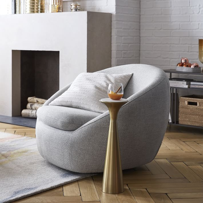 The 10 Best Barrel Chairs Of 2021, Swivel Chairs For Living Room