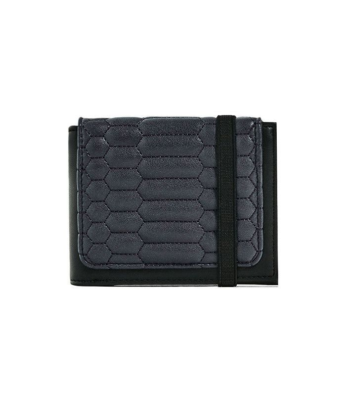 Zara Quilted Leather Wallet