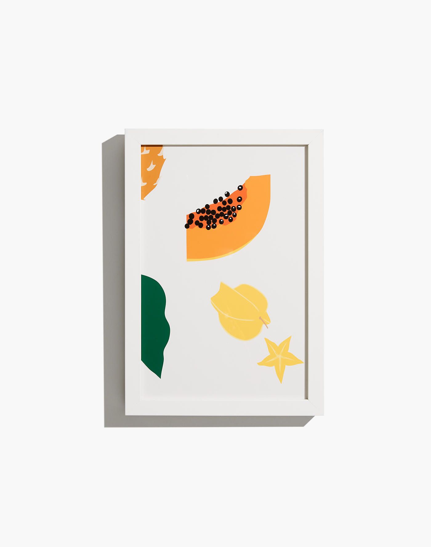 Small Yellow Fruit Mix Framed Print