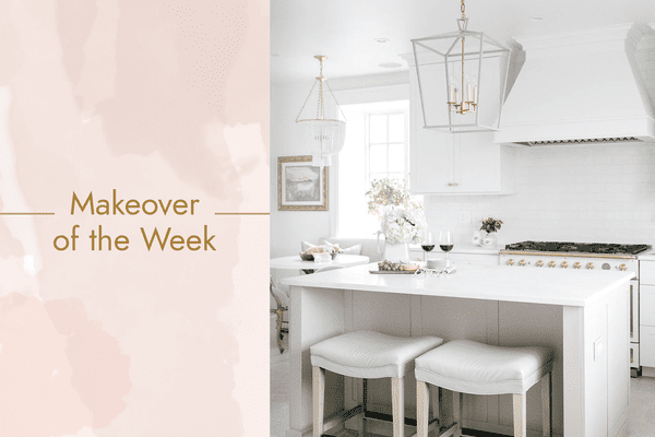 makeover of the week - colonial kitchen makeover