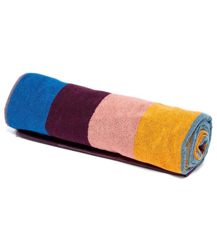 Artist stripe beach towel