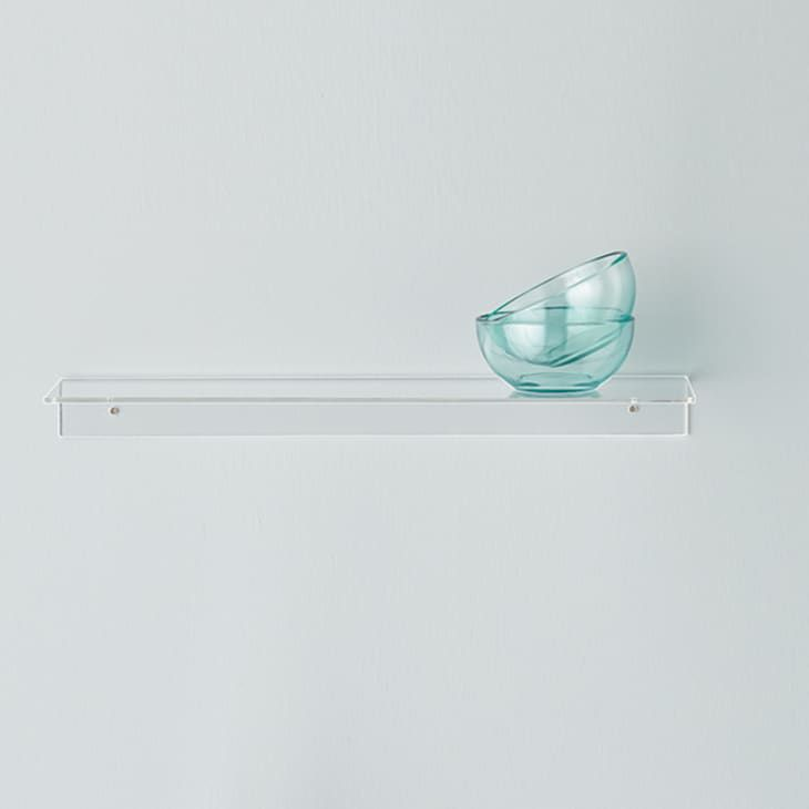 Clear Acrylic Shelf