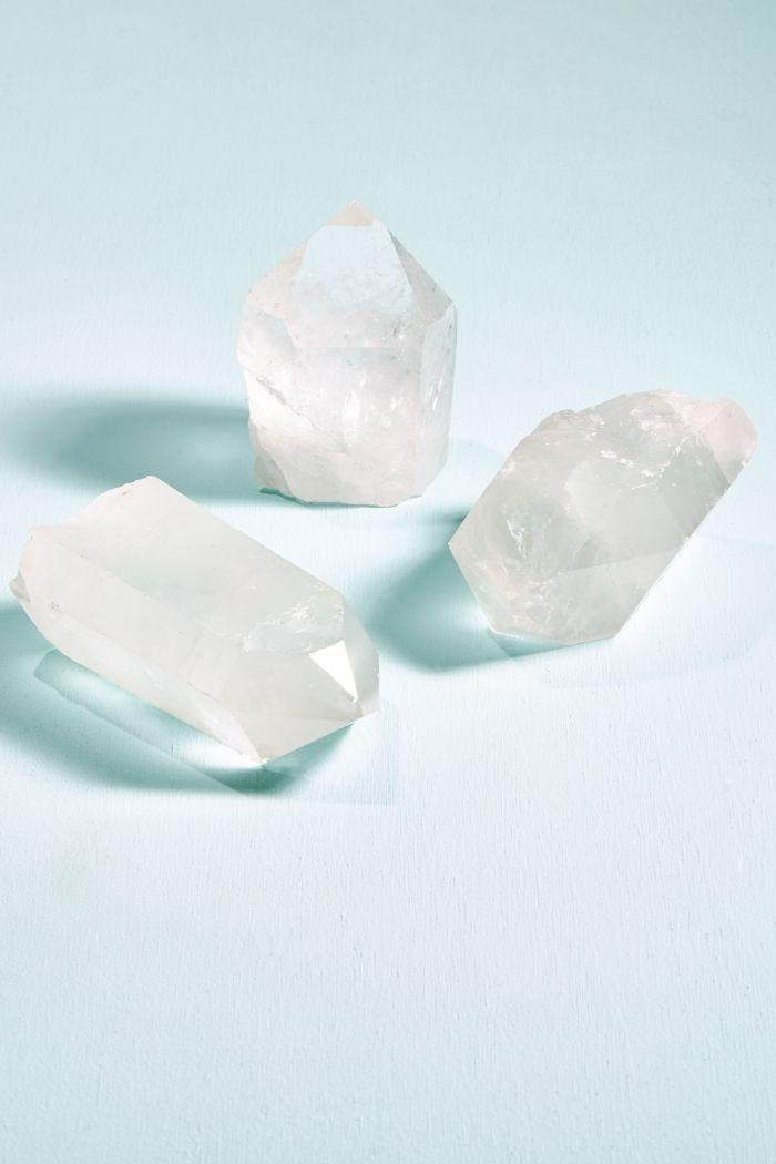 Small Quartz Crystal Point Base