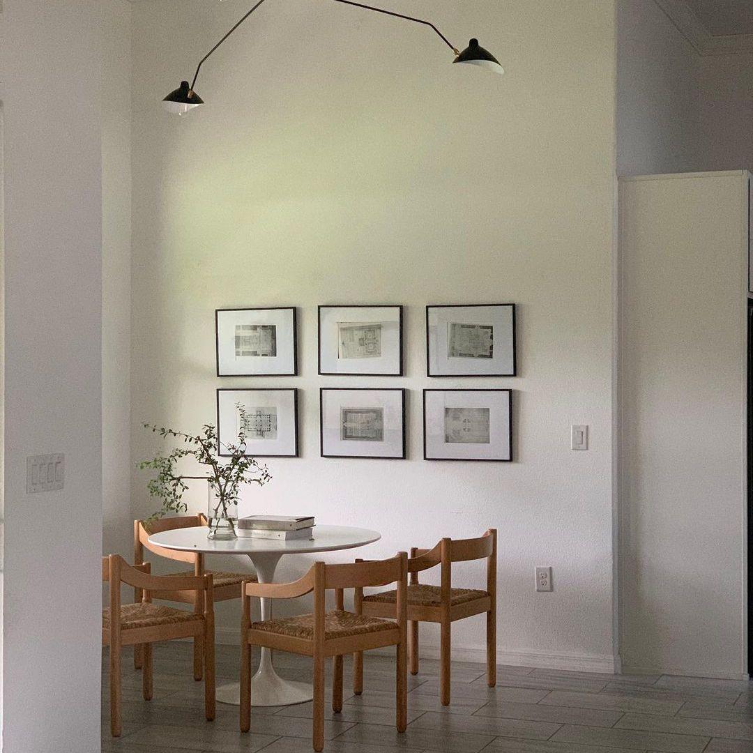 Simple minimal dining room