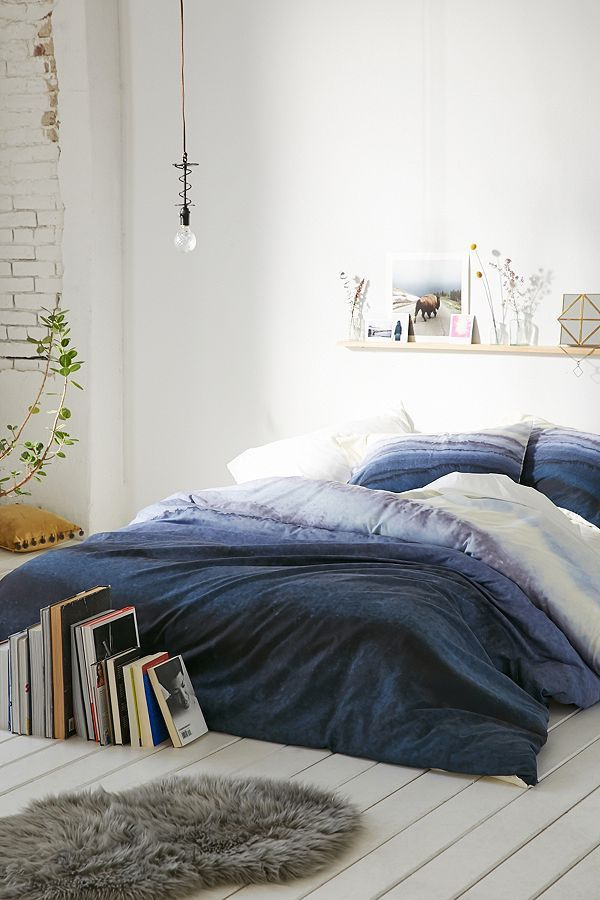 Monika Strigel For Deny Within The Tides Duvet Cover - Blue F/Q at Urban Outfitters