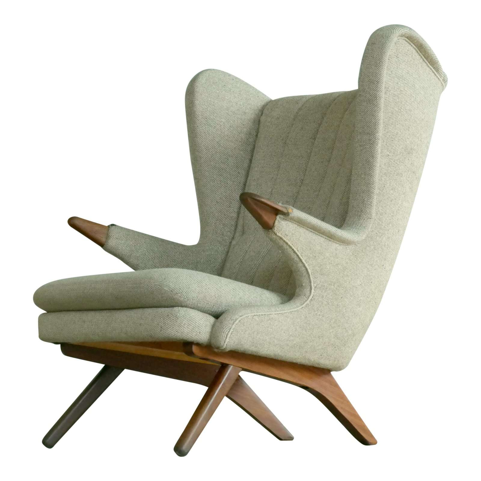 Sven Skipper 1960s Papa Bear Chair