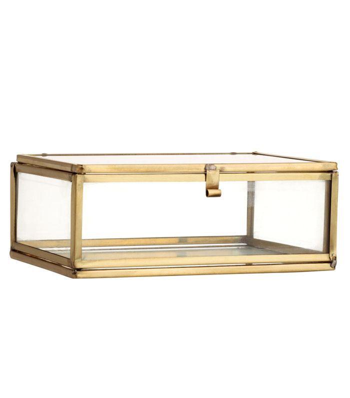 Clear Glass Box