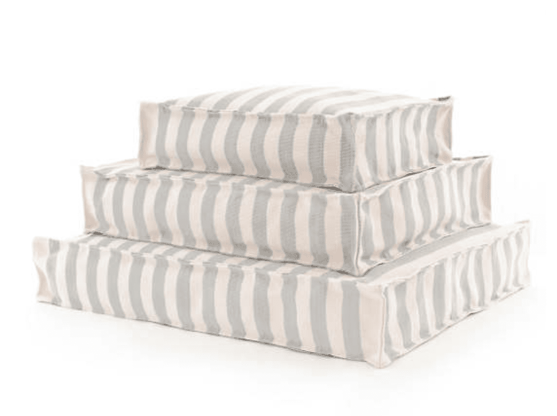 awning stripe cushion