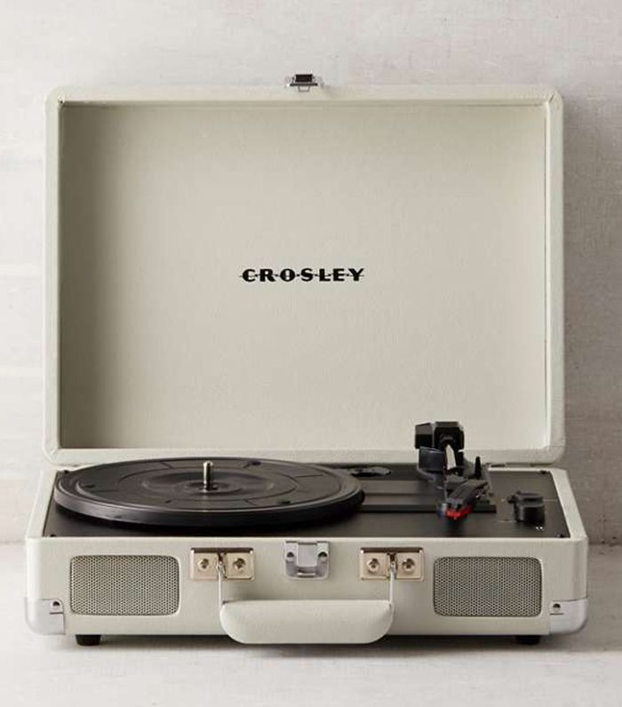 Crosley Dove Grey Cruiser Bluetooth Record Player