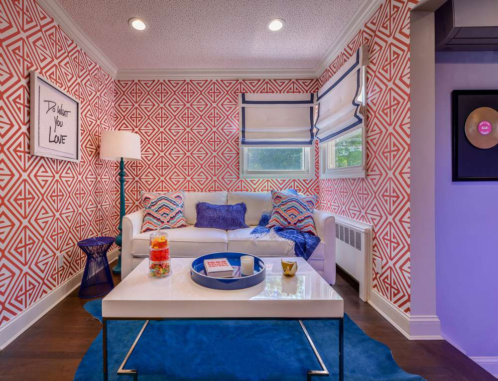 colorful small room