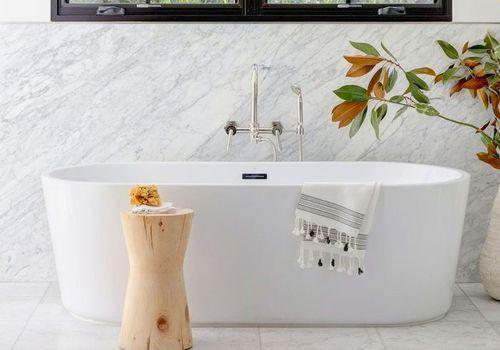 Decoración de baño moderna