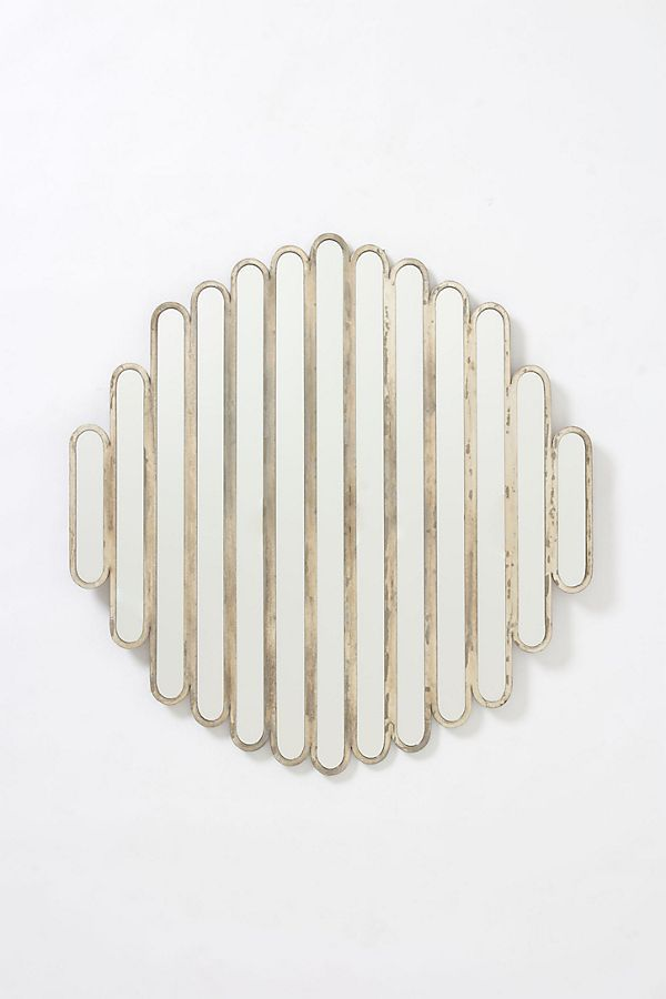 Abate Slatted Mirror