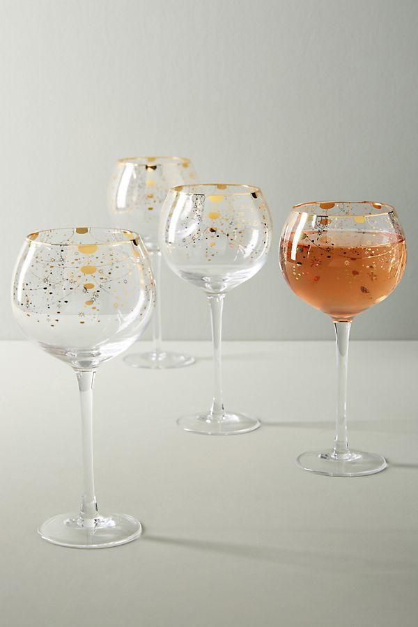 Celine Wine Glasses, Set of 4
