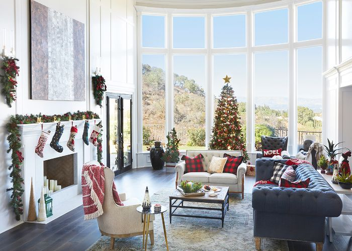 Tour Vanessa And Nick Lacheys Home Decorated For Christmas