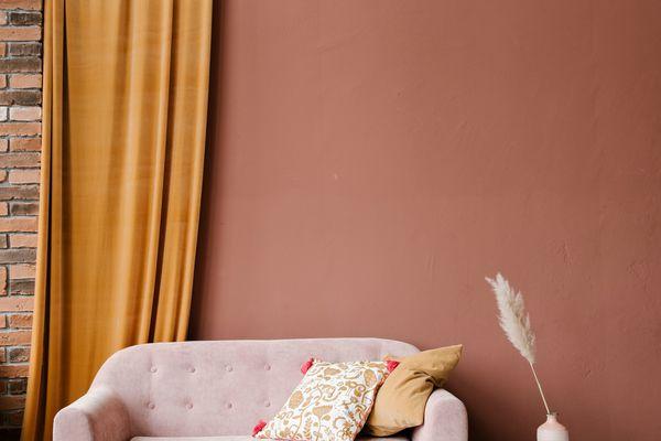 Comfortable Sofa In Cozy Room