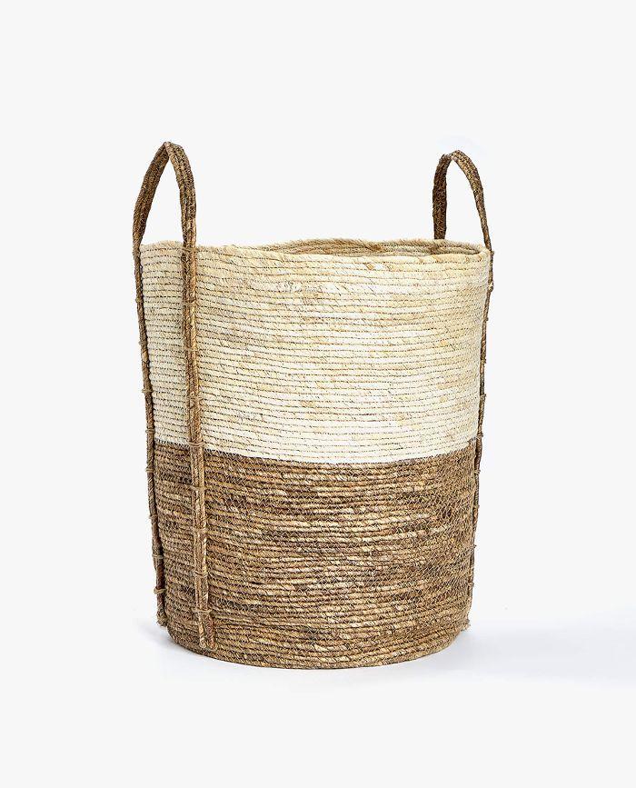 Zara Home Round Basket with Handle