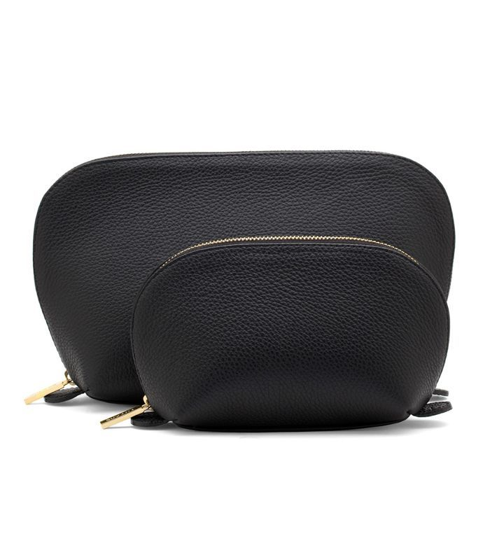 Cuyana Leather Vacation Case Set