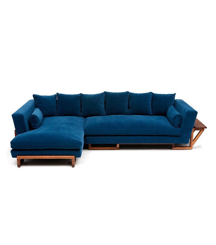 Artless sectional — lake house decorating