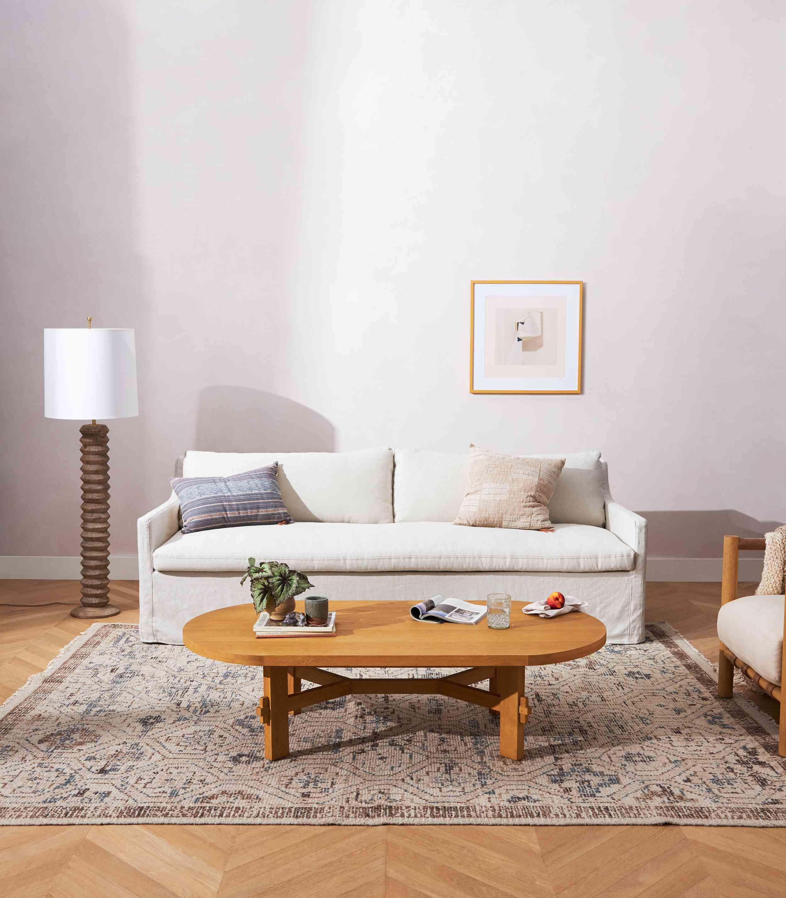 Amber Lewis For Anthropologie Keane Slipcover Sofa