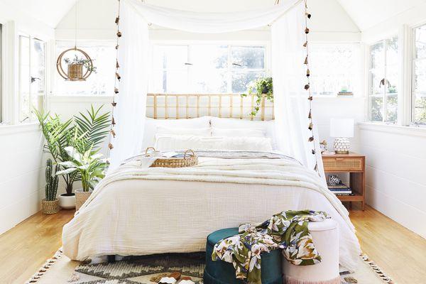 emily henderson bohemian bedroom