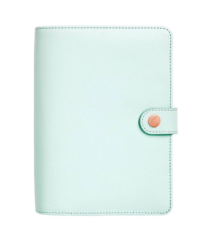 Kikki.k 18-Month Leather Perpetual Planner -