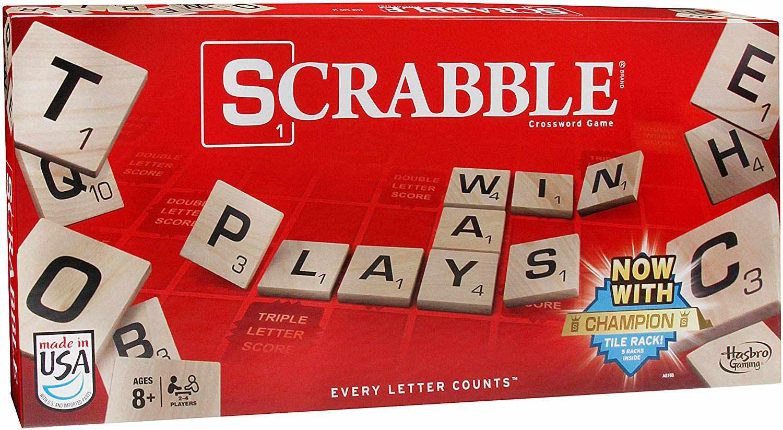 The board game, Scrabble.