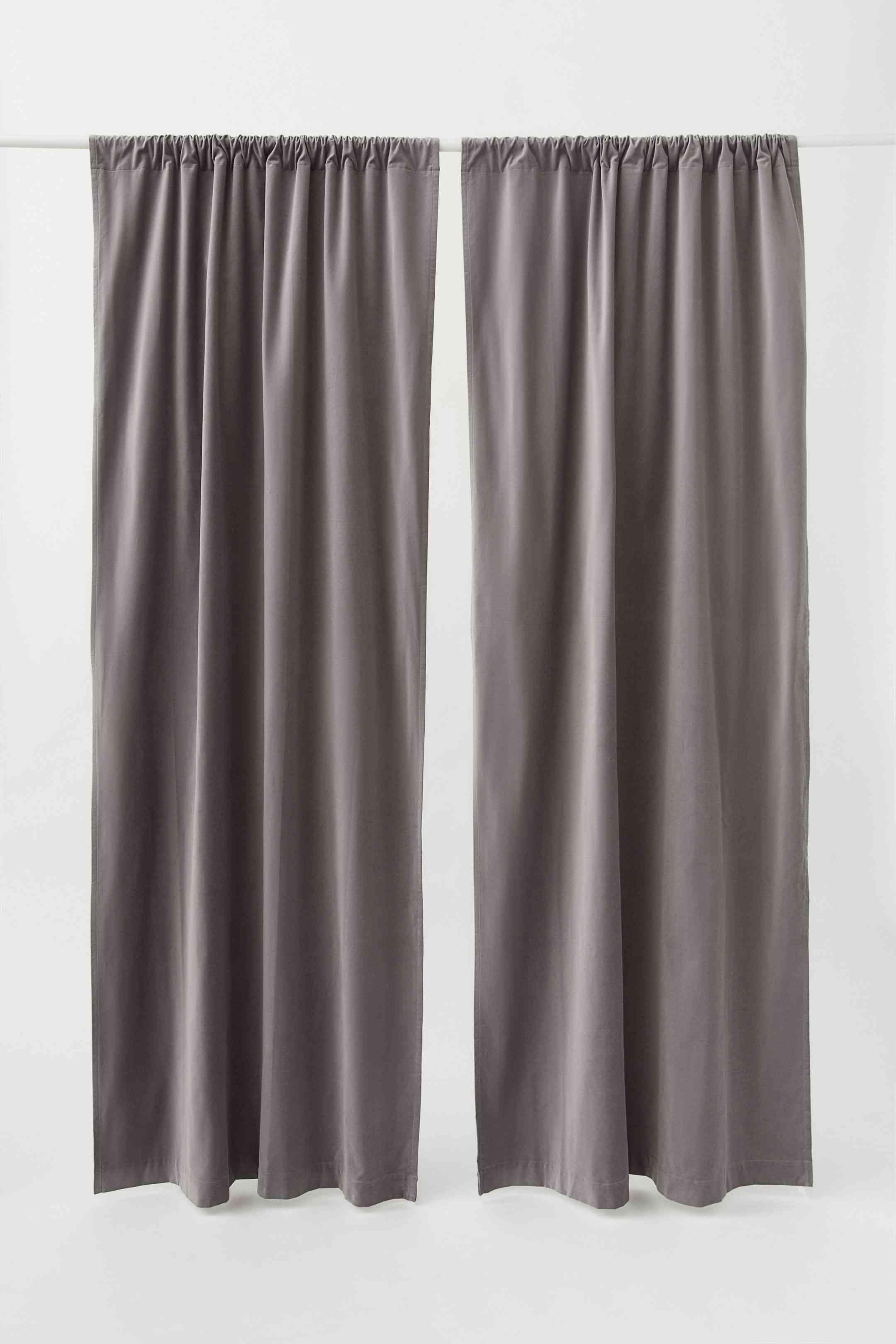Velvet Curtain Panels
