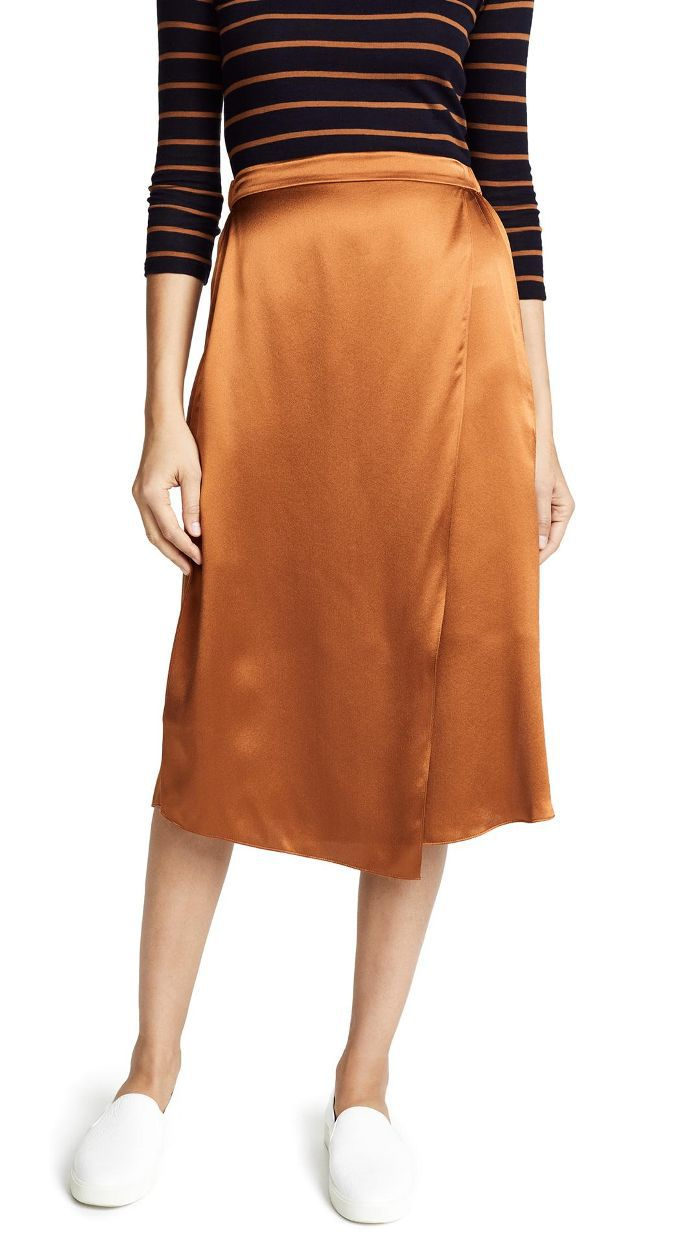Drape Panel Skirt
