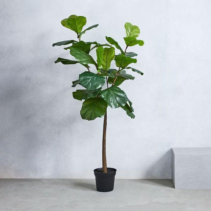 West Elm Faux Fiddle Leaf Fig Plant
