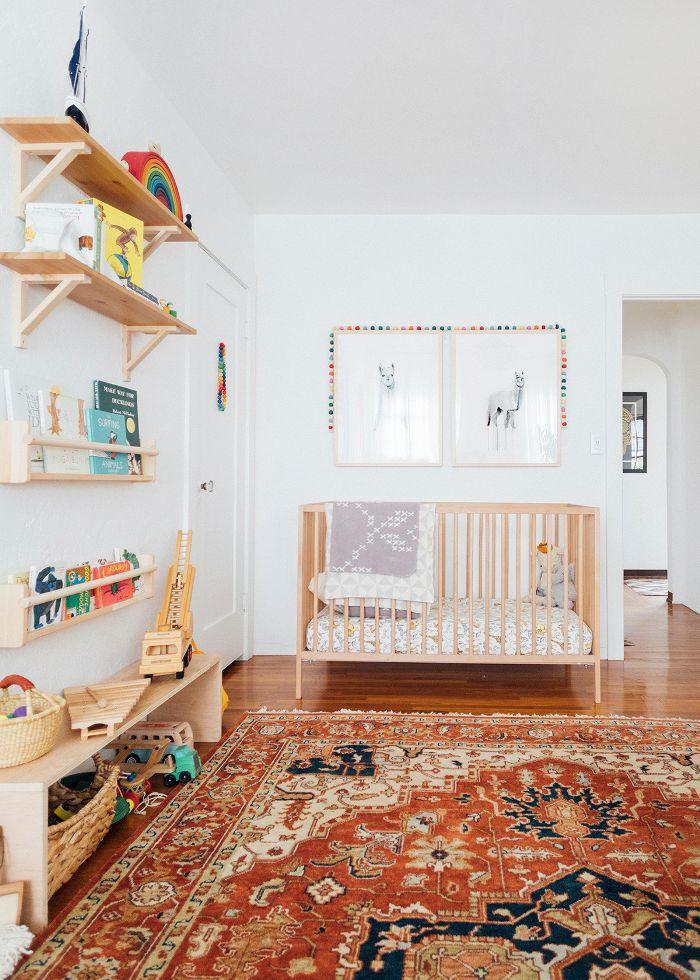 mid-century modern nursery
