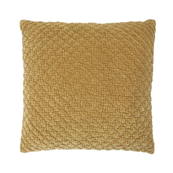 Threshold Hand-Quilted Velvet Pillow