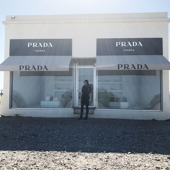 The iconic Prada store art installation in Marfa