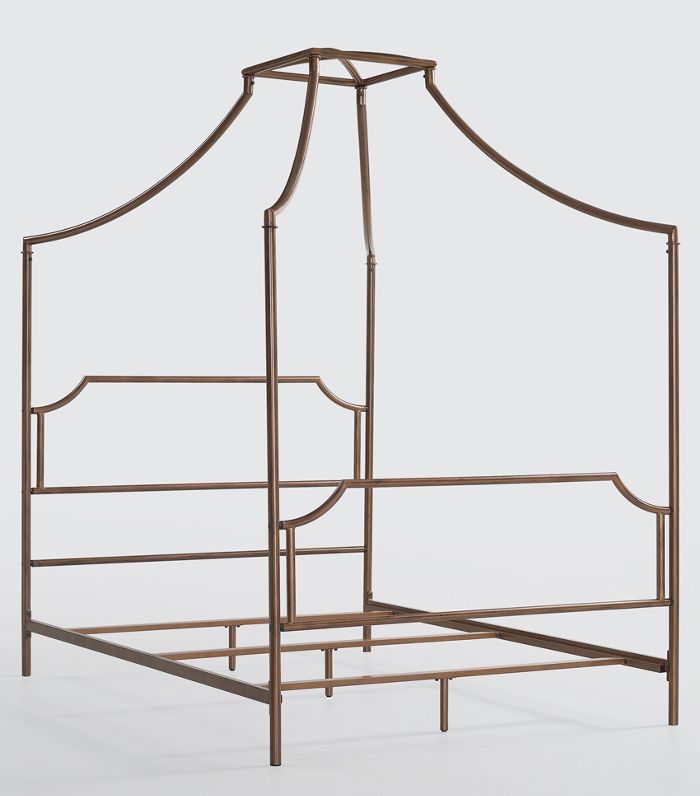 Campaign Canopy Bed