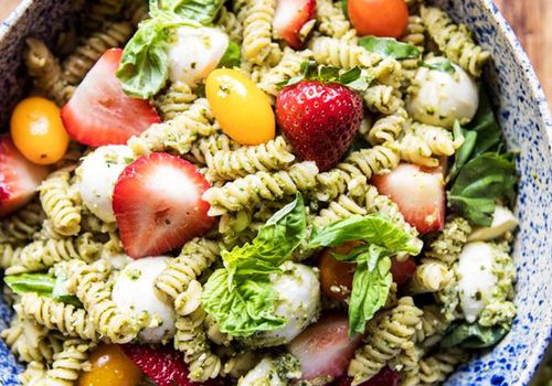 summer pasta recipe: 11