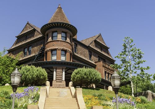 Gothic-style house