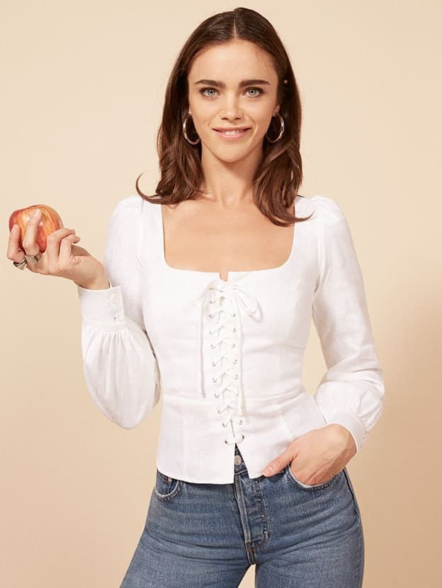 The Reformation Paloma Top