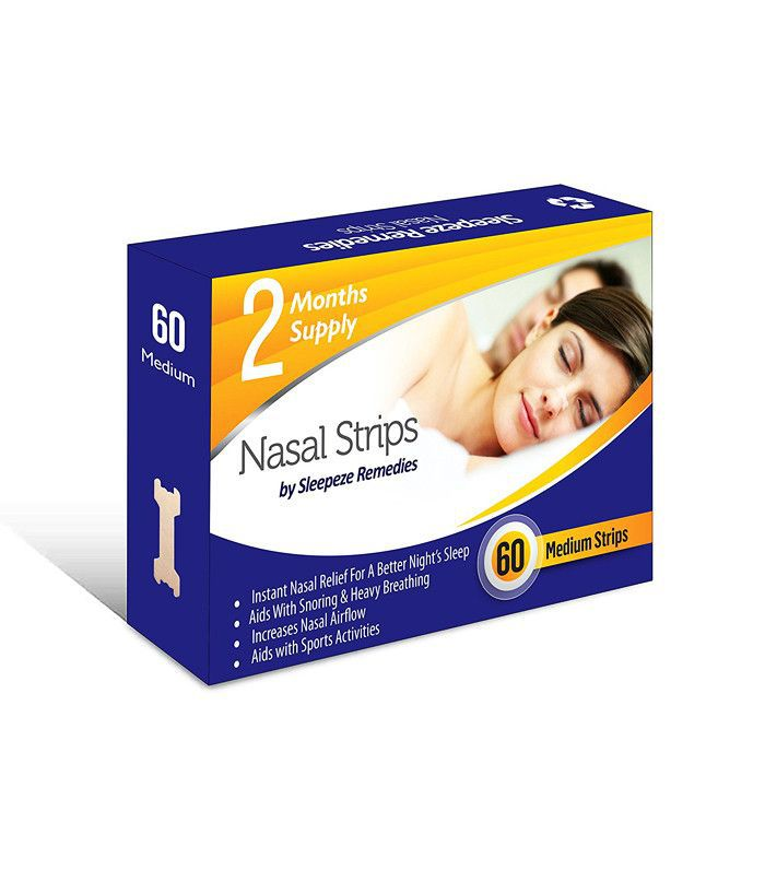 how to stop snoring: Sleepeze Remedies nasal strips