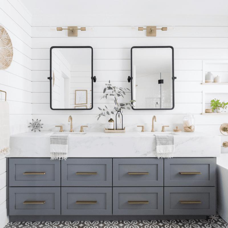 Double Vanity Ideas To Try In Your Bathroom, Small Bathroom Vanity Ideas